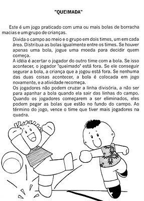 Brincadeira Queimada Brincadeiras Recreacao Educacao Infantil