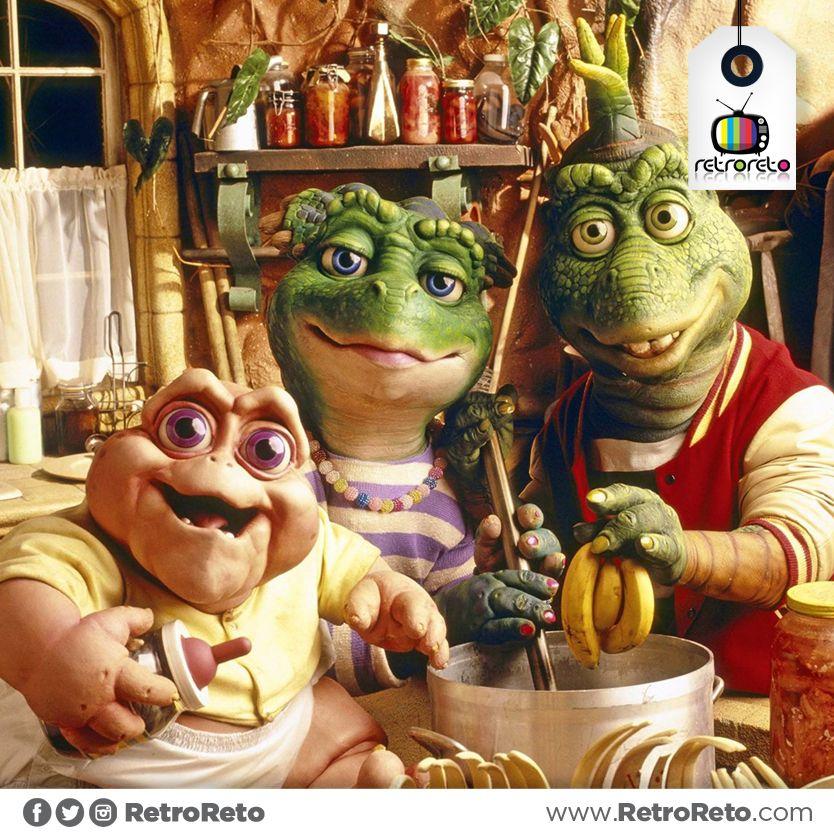 Quien Recuerda La Serie Dinosaurios Programas De Tv De Los 90s Bebe Sinclair Caricaturas Viejas