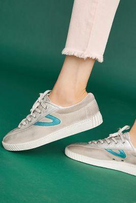 Anthropologie Tretorn Metallic Sneakers