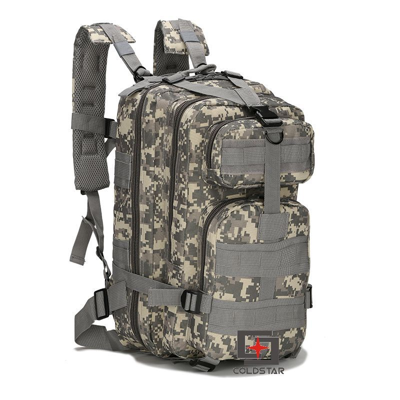0f3da9ccac ACU Camo 3P Tactical Backpack Double Shoulder Mountaineering 3P ...