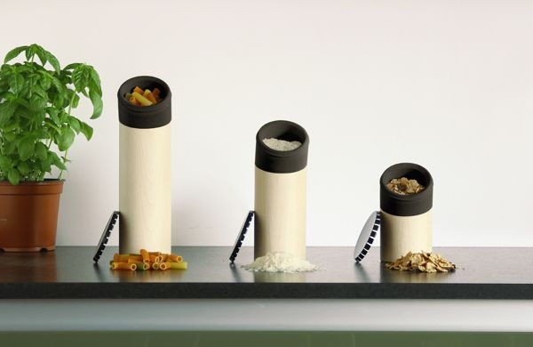 Dalton, dry food canisters by La Mamba