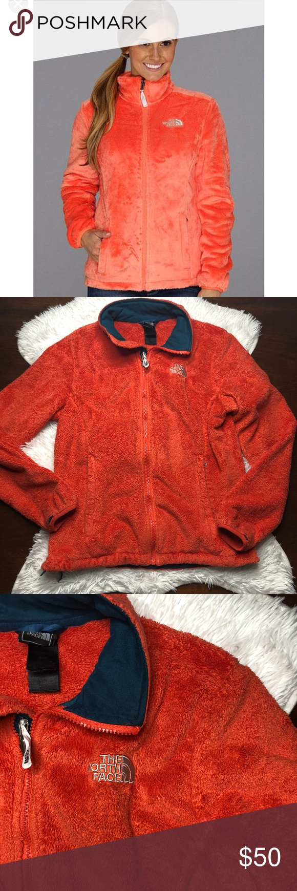 The North Face Osito Fleece Jacket Miami Orange Vguc Normal Wear From Washing But No Flaws Miami Orange Bright Size Fleece Jacket Jackets North Face Osito [ 1740 x 580 Pixel ]