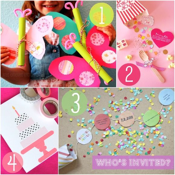 Party Invites Creative Birthdays and Party time