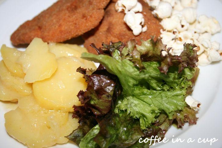 chicken schnitzel @ 'beim czaak' in vienna (austria)