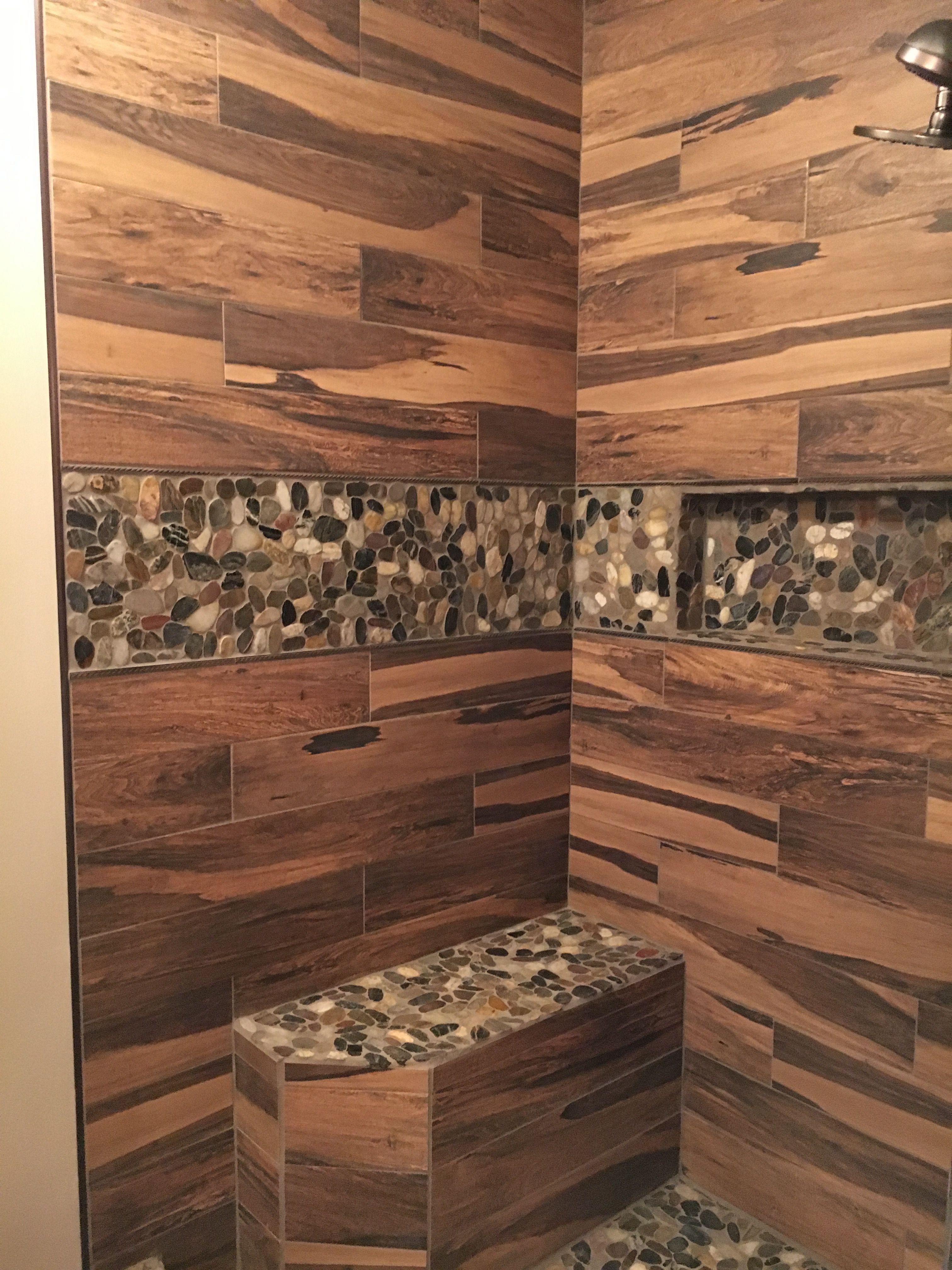 30 Amazing Natural Stone Floors For Bathroom Design Ideas