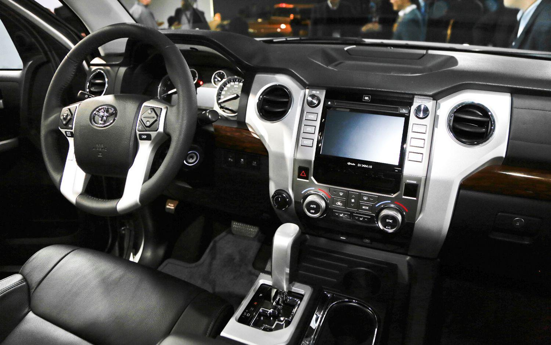 Beautiful 2014 Toyota Tundra Dashboard Interior