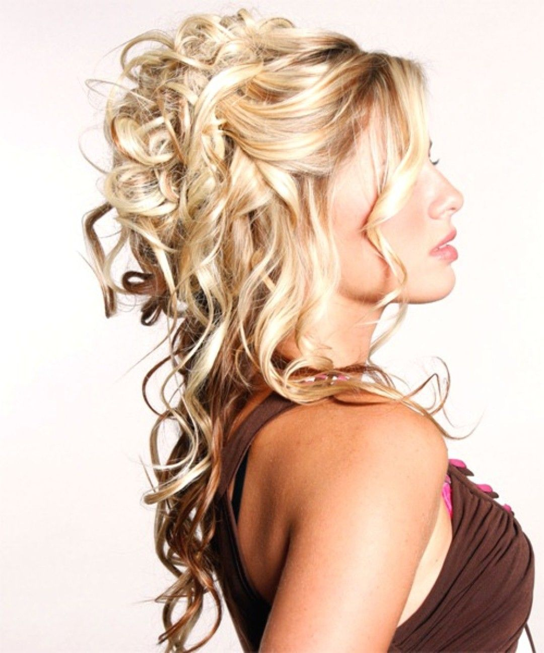 Fantastic 1000 Images About Prom Hair On Pinterest Waterfall Braids Prom Hairstyle Inspiration Daily Dogsangcom