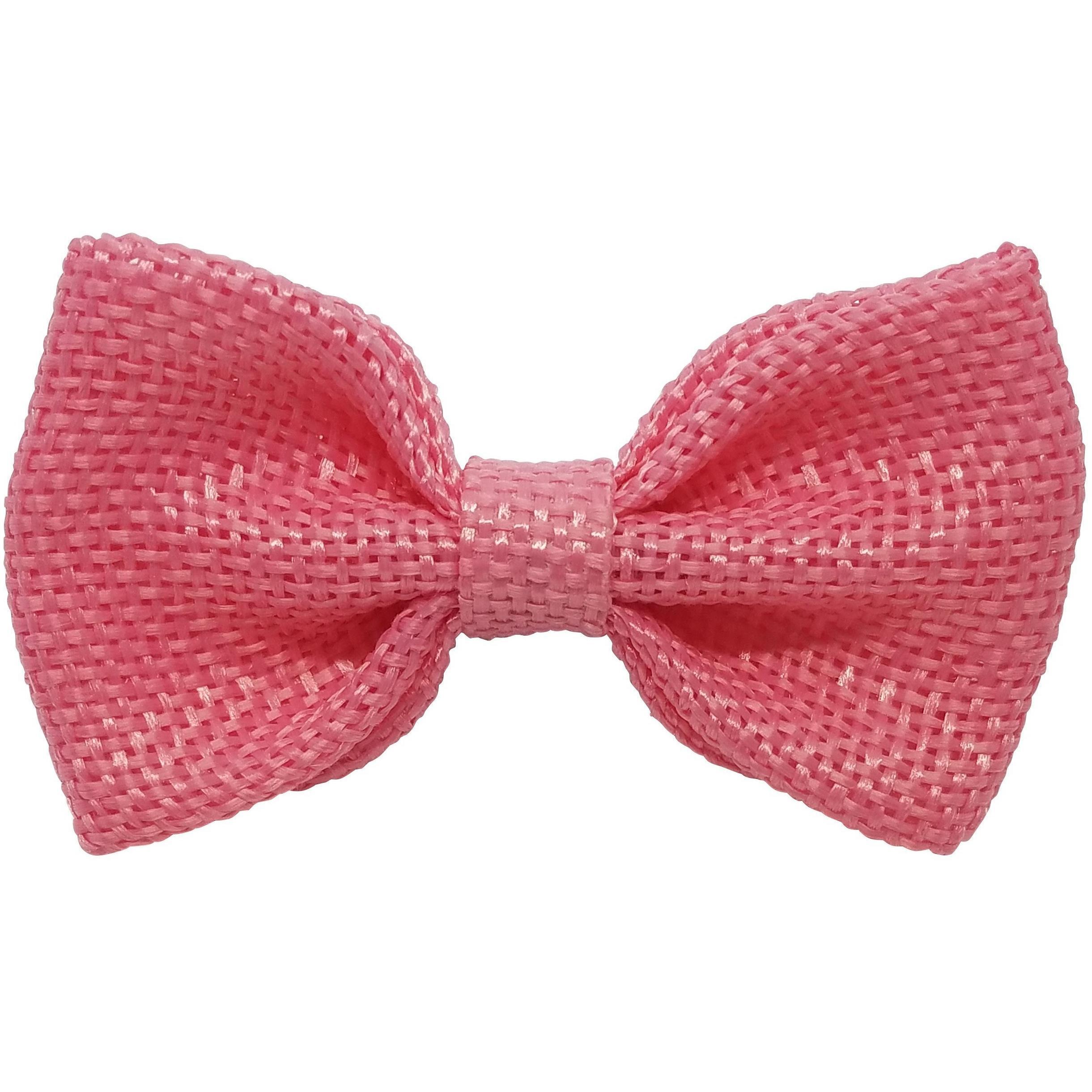 488172d2520b4 Ivory 3 | Products | Burlap hair bows, Blue, Bow hair clips