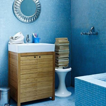Banos En Azuldecoracion Blue Bathroom Blue Bathroom Accessories