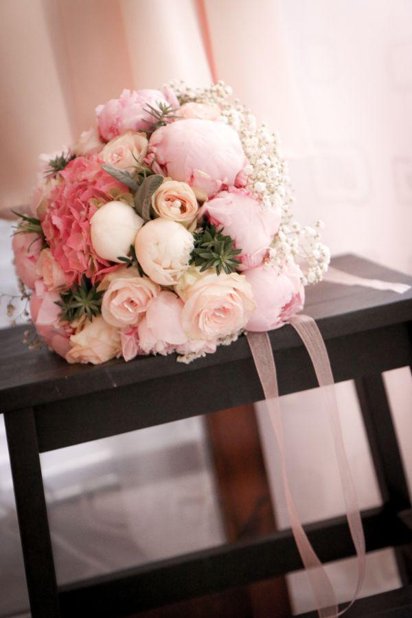 peonie bouquet sposa