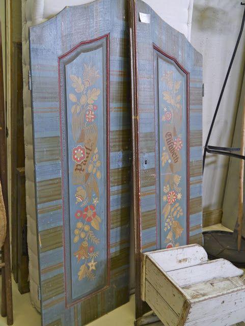 Large Painted Doors