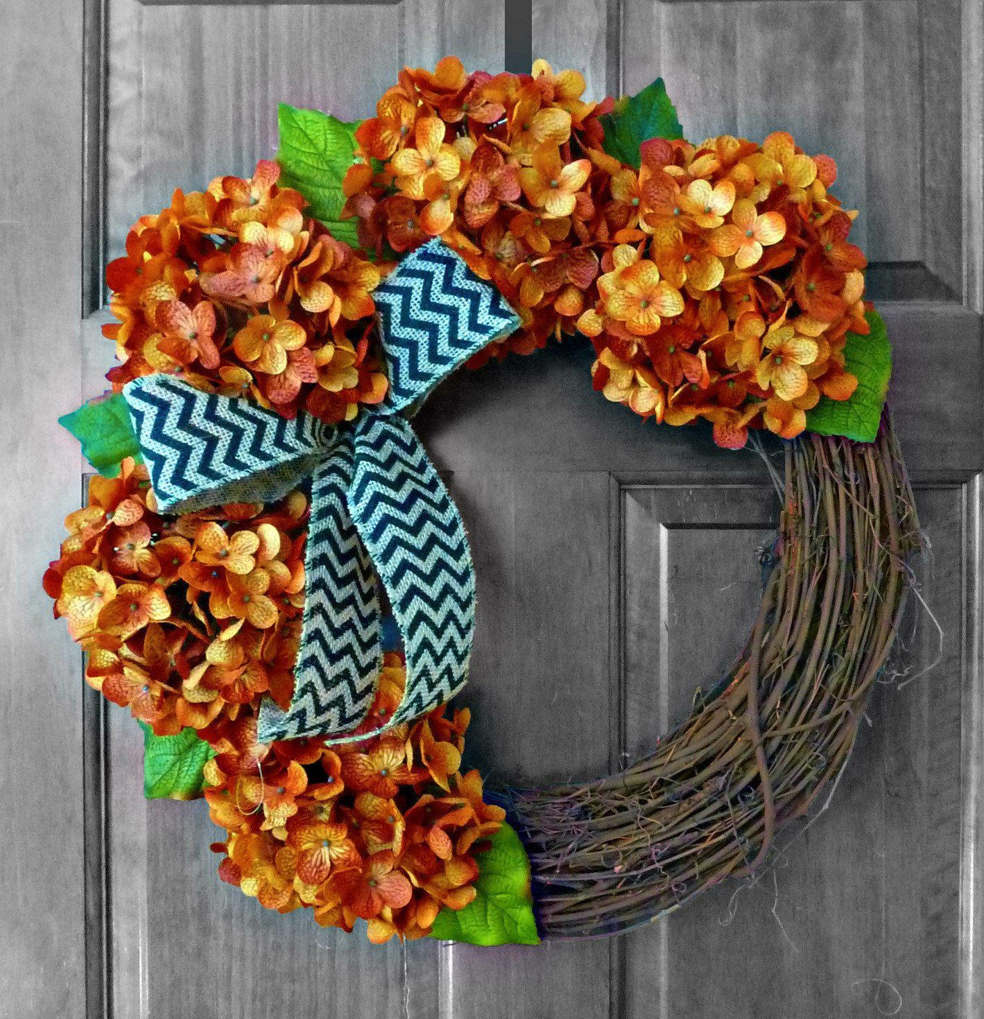 By Refined Wreath - Halloween Wreath, Fall Wreath, Halloween Decor - halloween front door decor