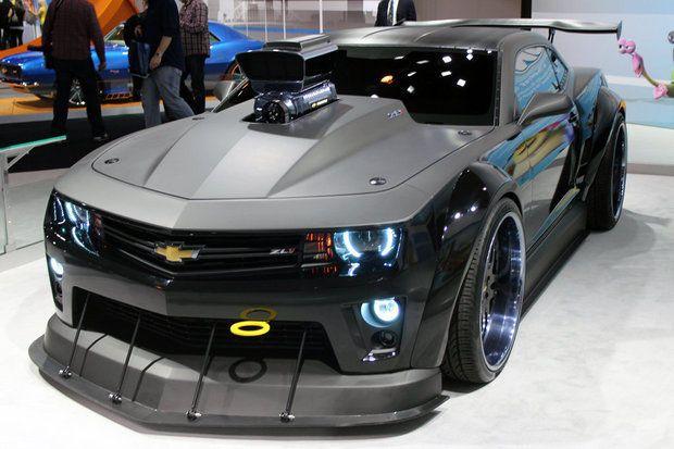 Custom Camaro Revs Up DreamWorks Animations Turbo | Our ...