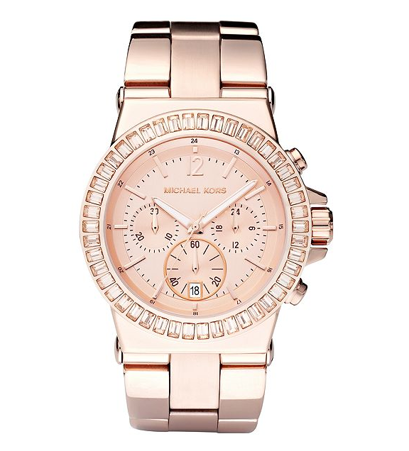 Rose Gold Chronograph Watch