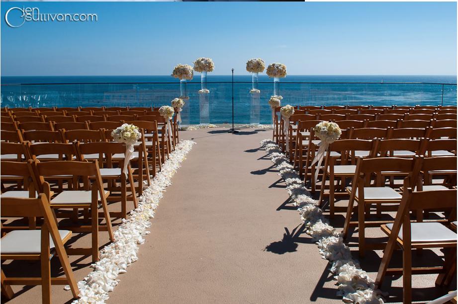 Stunning Ocean Terrace Wedding At Surf Sand Fls By Elegant Design Photography Nicole Caldwell Beachwedding Surfandsand Pinteres