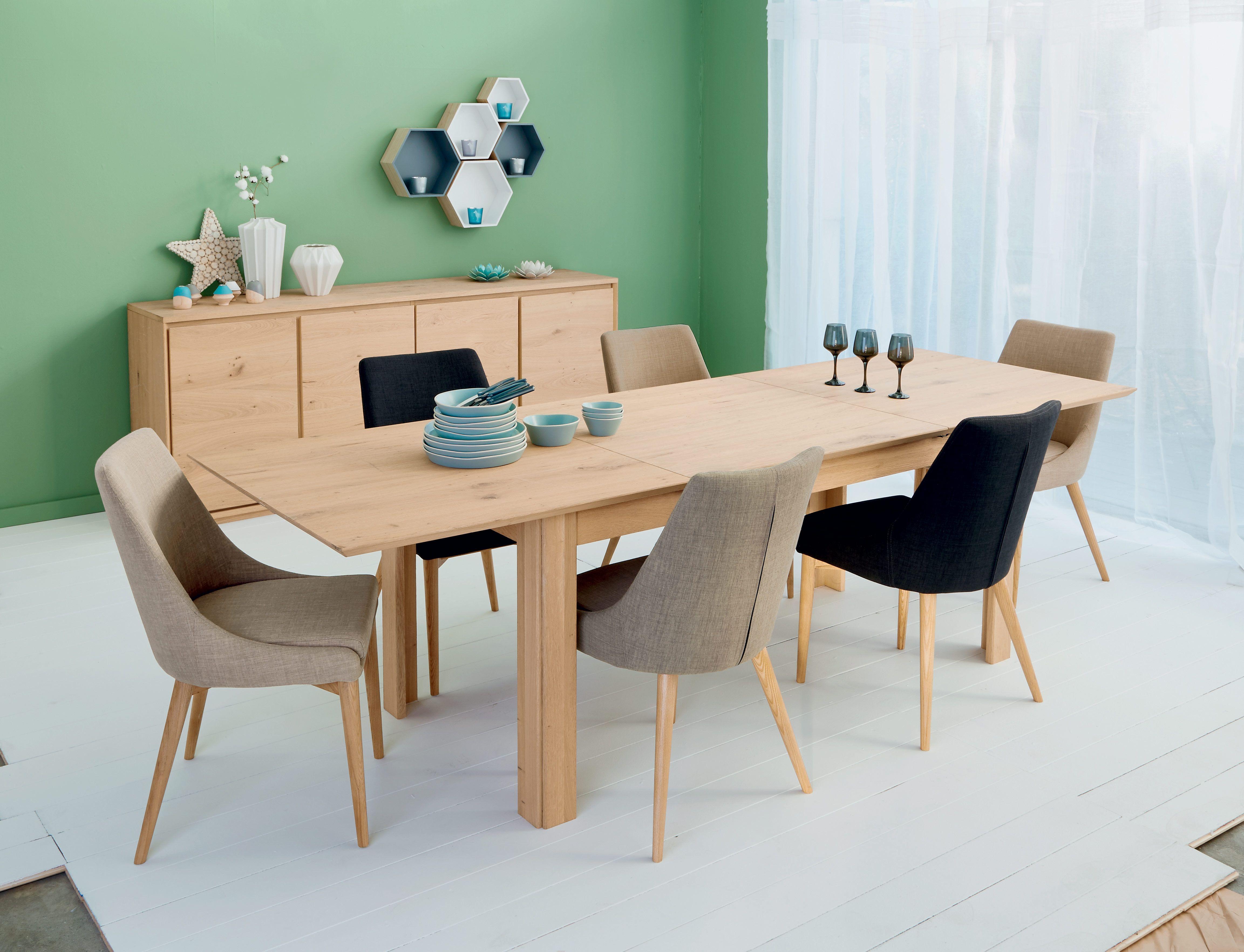 Stockholm Table En Chene Decoration Deco Maison Alinea Table Salle A Manger Mobilier De Salon Meuble Deco