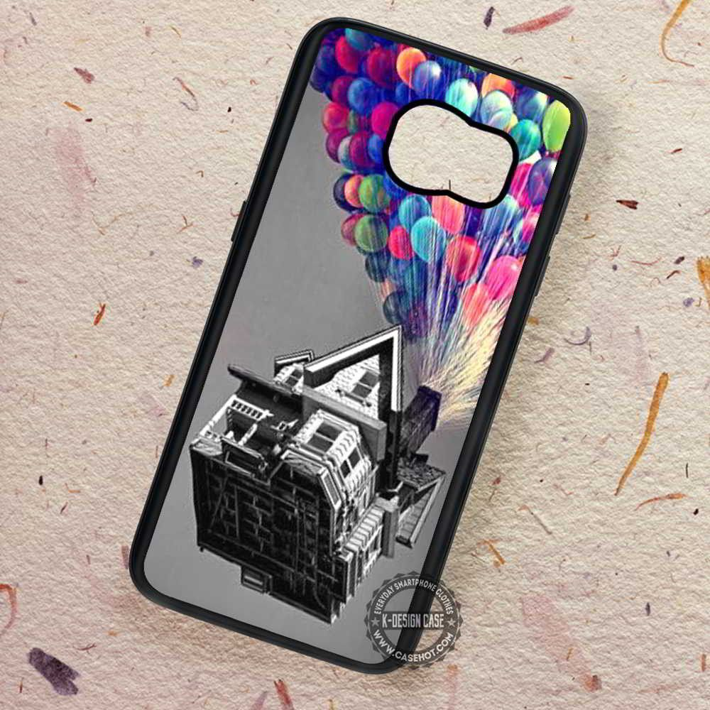 House Colorfull Balloons Disney Up - Samsung Galaxy S7 S6 S5 Note 7 Cases & Covers