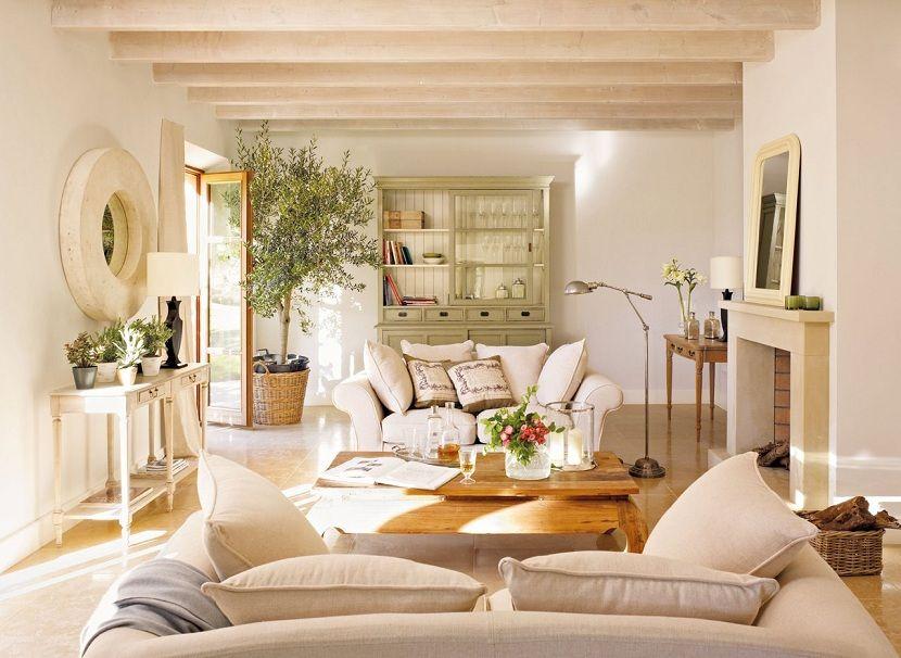 Cómo conseguir una mayor iluminación en el salón de casa | Salón de ...