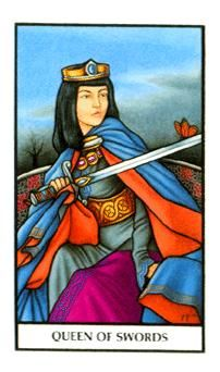 June 22 Tarot Card Queen Of Swords Connolly Deck Emotions Will Only Cloud Your Judgment Now Your Mind Is Sharp And Your Vision Is Precise Use Your
