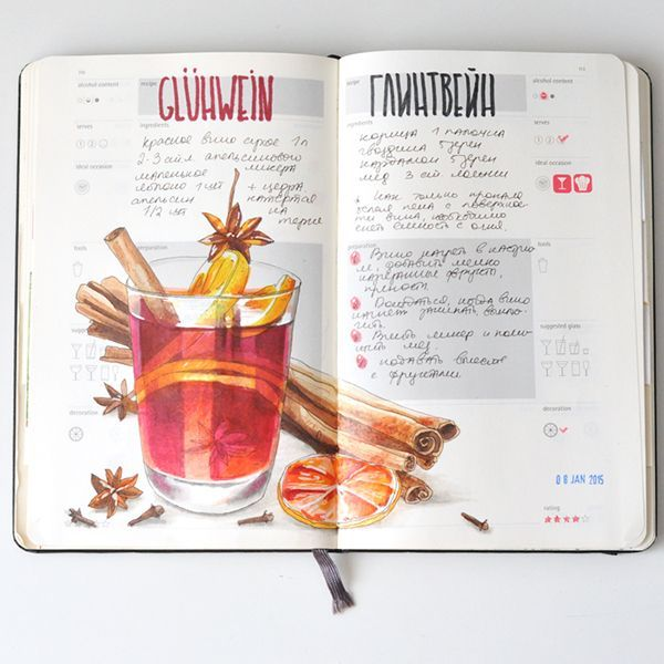 Recipe journal 2014 on behance sketchbooks pinterest recipe recipe journal 2014 on behance forumfinder Gallery