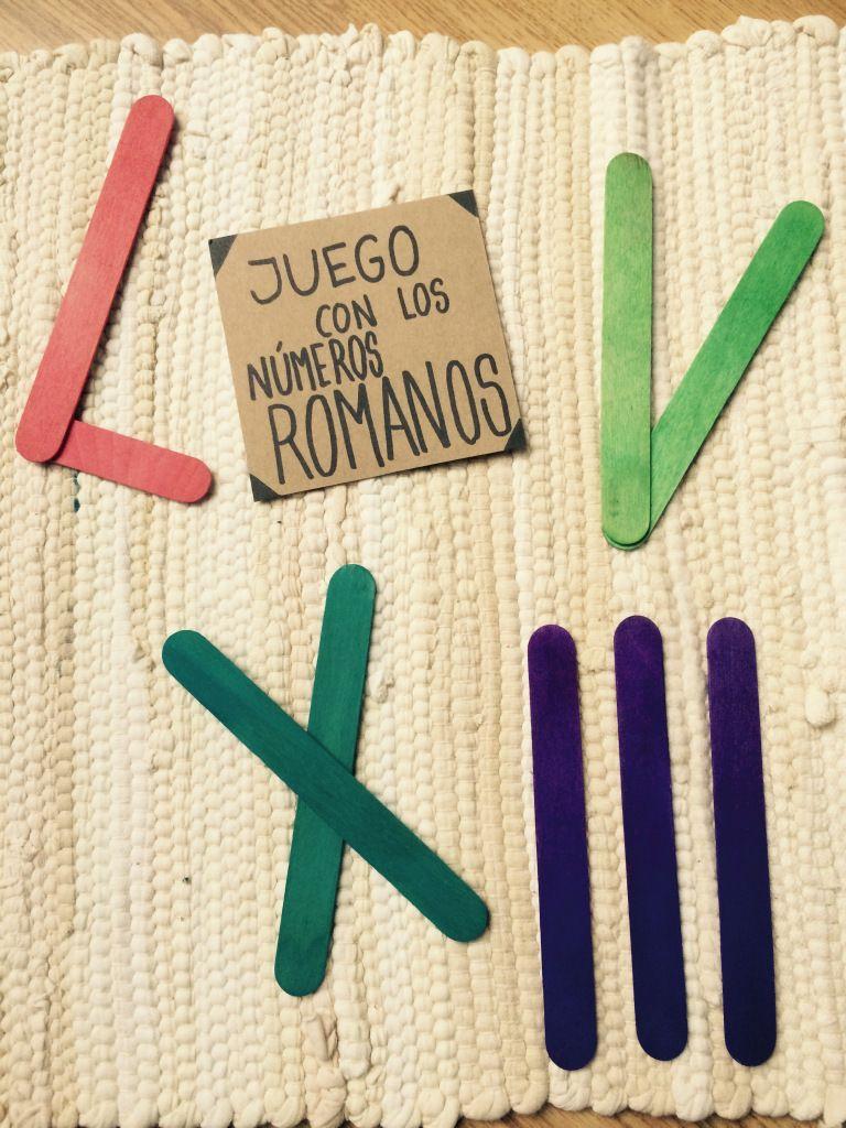 JUGAMOS CON LOS NÚMEROS ROMANOS | EDUCACIÓN | Pinterest | Juegos ...
