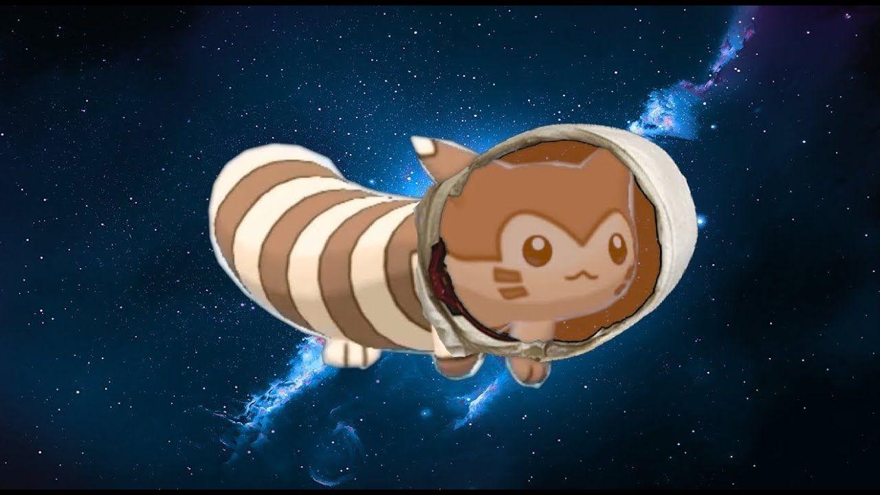 Furret Walk In Space Pokemon Popular Pokemon Profile Picture