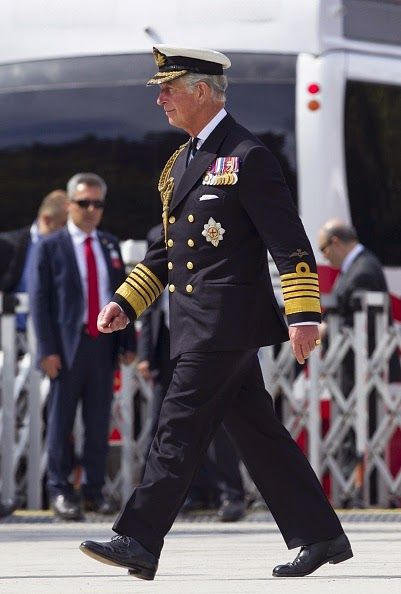 Prince Charles of Wales attends the commemoration ceremony marking the 100th anniversary of the Canakkale Land Battles on April 24, 2015 at the Canakkale Martyrs' Memorial, in Canakkale, Turkey.