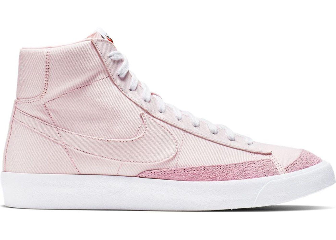 Nike Blazer Mid 77 Vintage Pink Foam in 2021 | Pink nike shoes ...