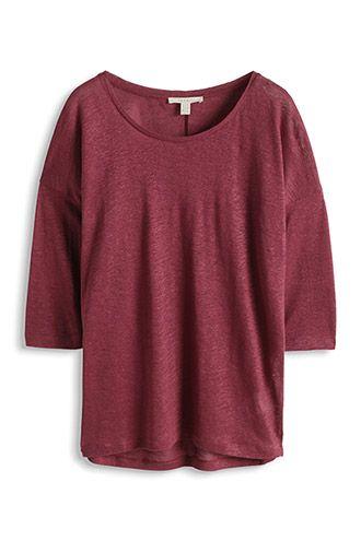 Esprit / Oversized shirt van linnen mooie kleur!!!