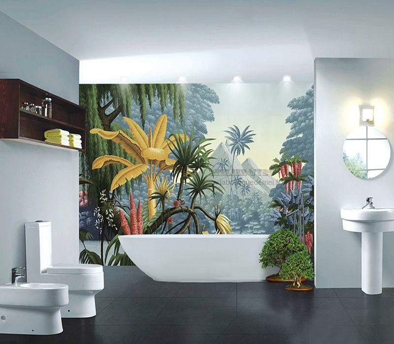11+ Salle de bain ambiance tropicale inspirations