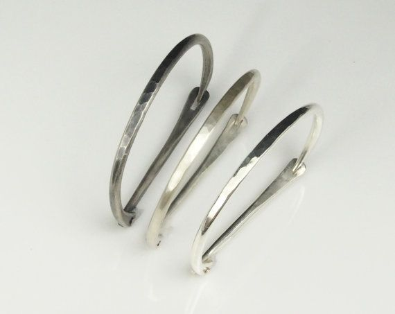 Made to Order: Hand-Forged Latch Bracelet in Recycled