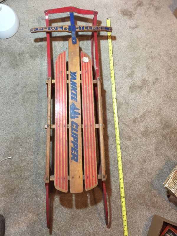 Flexible Flyer Sled Parts Bing Images Antique And Collectable