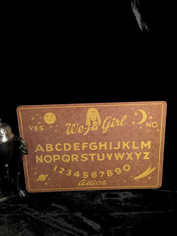 Great old Ouija Board, printed graphics on board, no