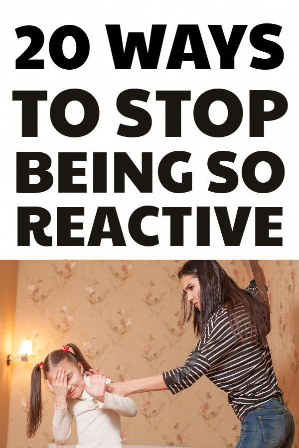 Proactive Parenting - 20 Ways To Stop Being Reactive And Overreacting #parenting