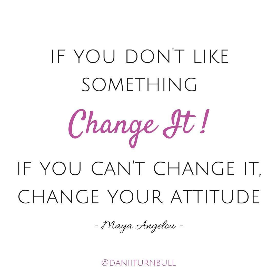 This is one of my all time favorite quotes. Attitude really is everything and…