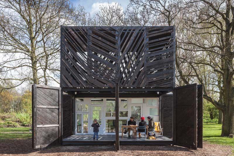 Noorderparkkamer bureau sla & overtreders w architecture