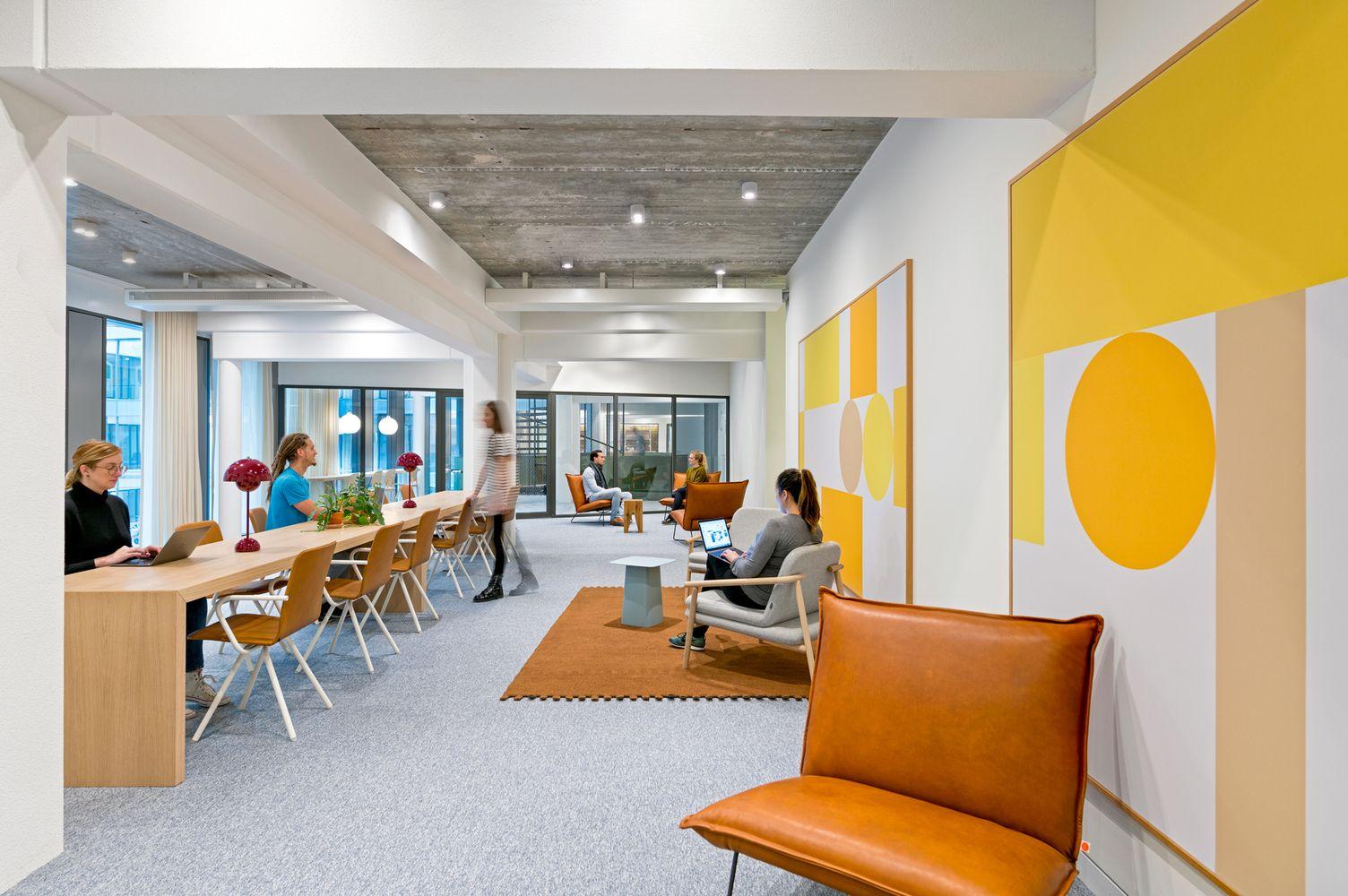 Interior Design Studio Amsterdam gallery of uber emea headquarters / assembly design studio +