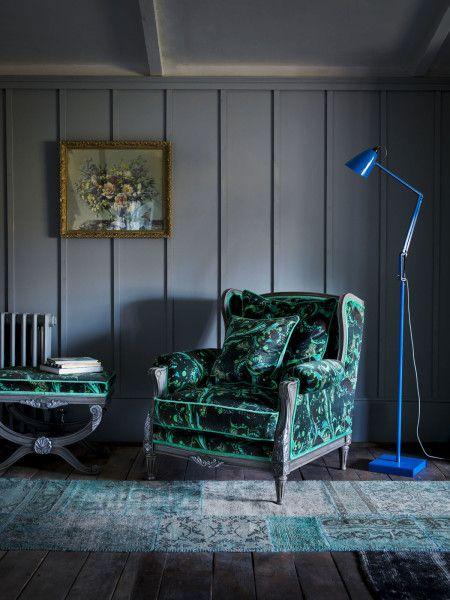 Superb Matthew Williamson For Duresta Bespoke Furniture Range   Marble Butterfly  Chair
