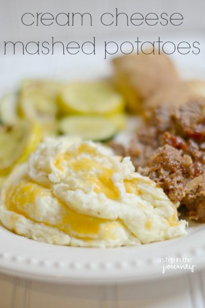 Cream Cheese Mashed Potatoes for Two!