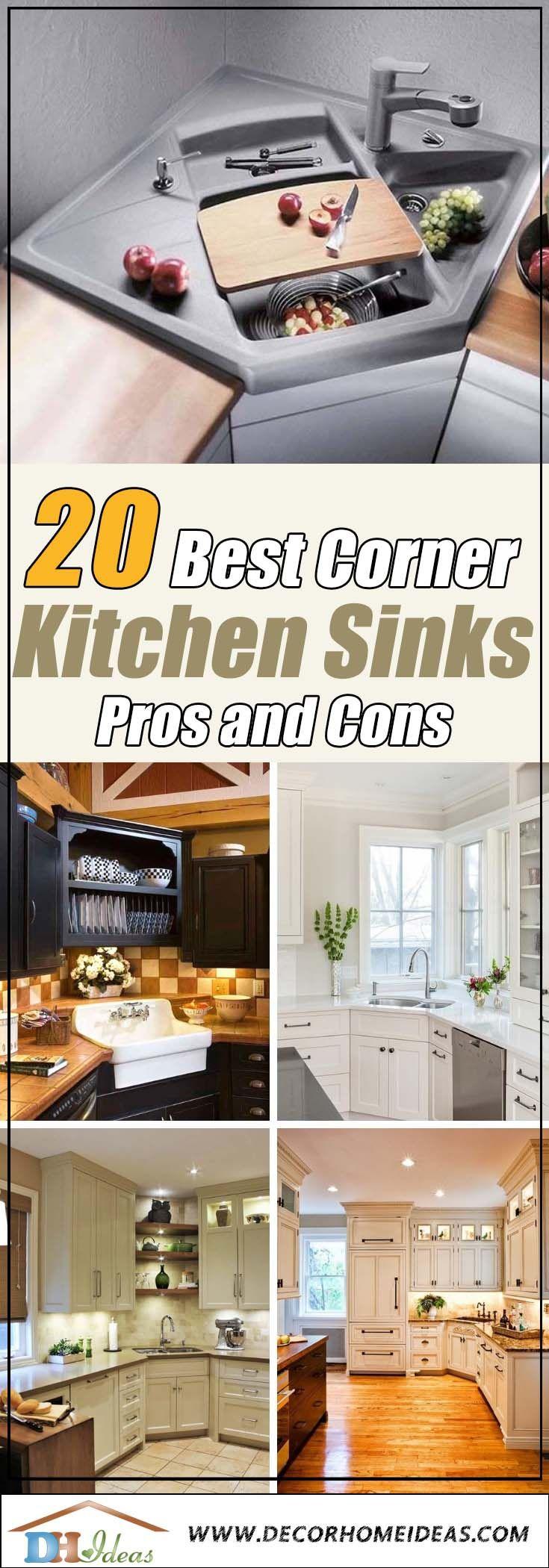20 Best Corner Kitchen Sink Designs Corner Sink Kitchen Sink Design Kitchen Remodel Software