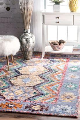 rugs usa multi pavilion golden glowing glimmer rug bohemian runner rh pinterest com