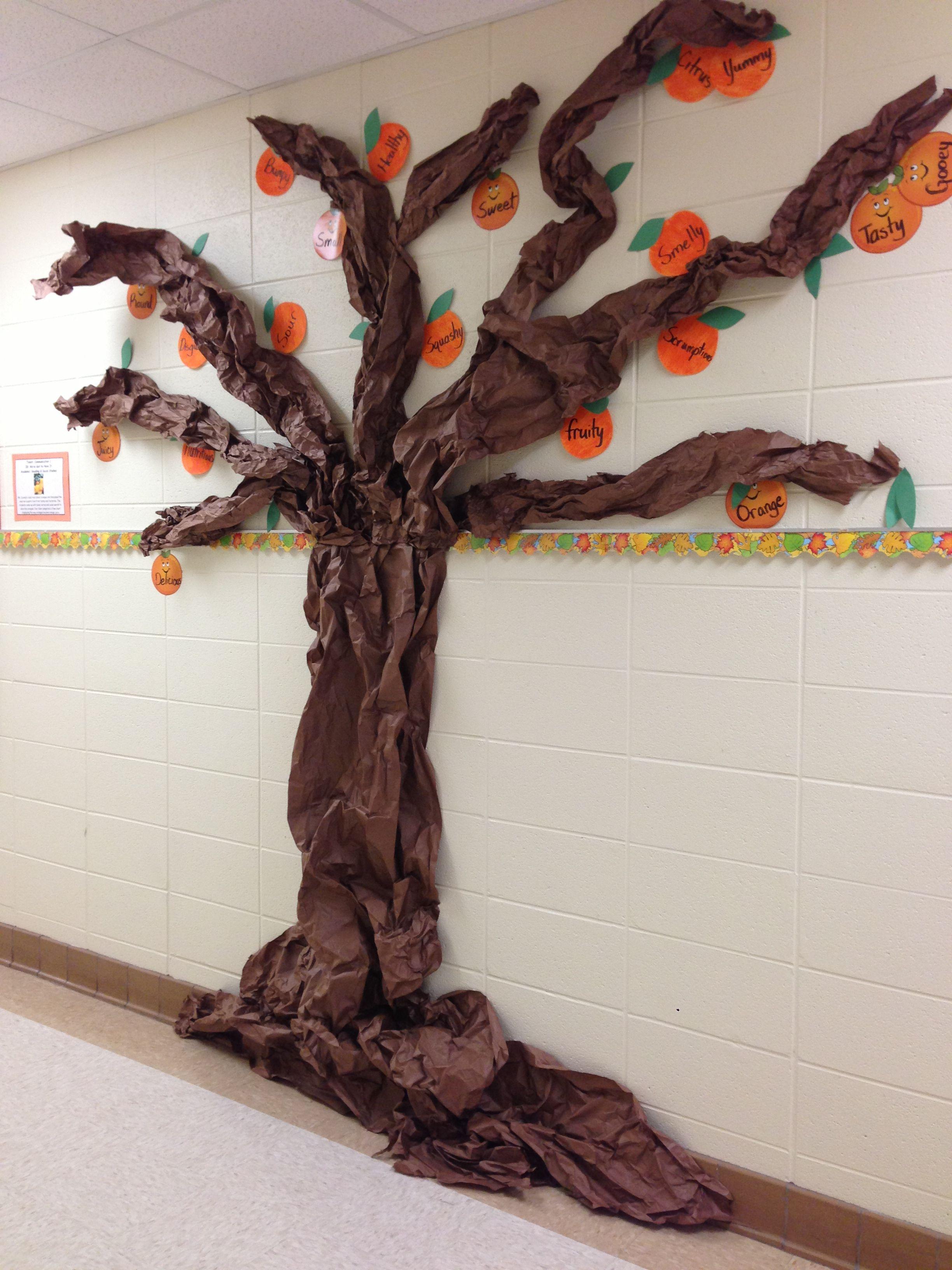 Tree Display Bulletin Board And Hallway Displays