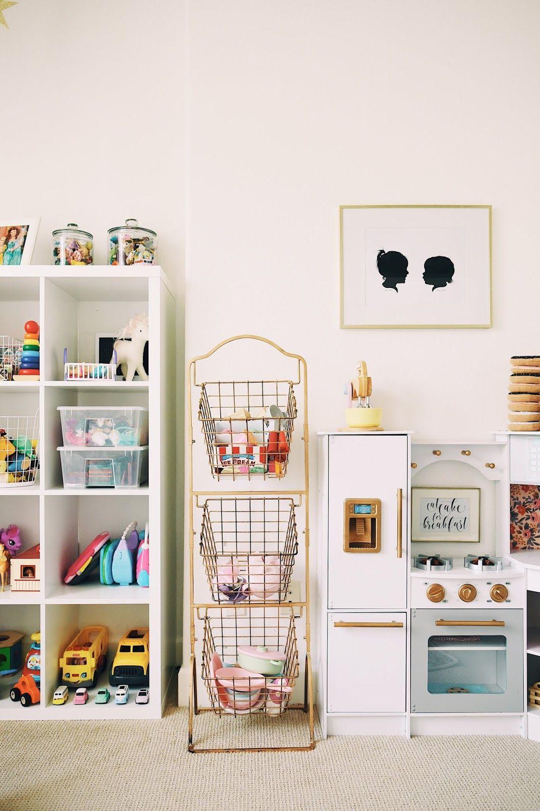 Hello Baby Brown Playroom Tour Updated Playroom Storage Kid Room Decor Playroom Organization
