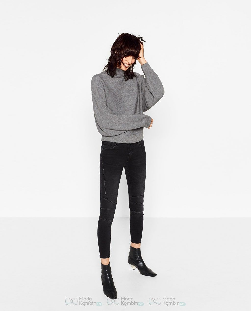 2017 Zara Bayan Jean Pantolon Modelleri 2017zarabayanjeanpantolonmodelleri 2017zarajeanpantolonmodasi Zara Moda Stilleri Kumas Pantolonlar