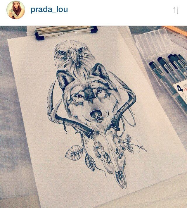 Lou Hopper Is Stunning Beautiful Stunning Tattoos: Beautiful Tattoos