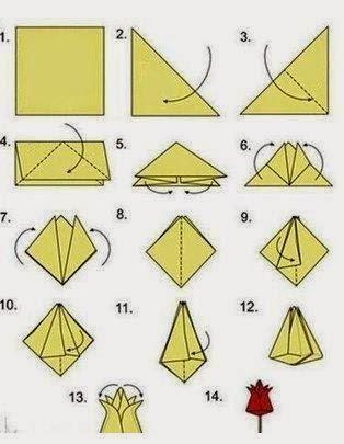 Manualidades con hojas de papel paso a paso