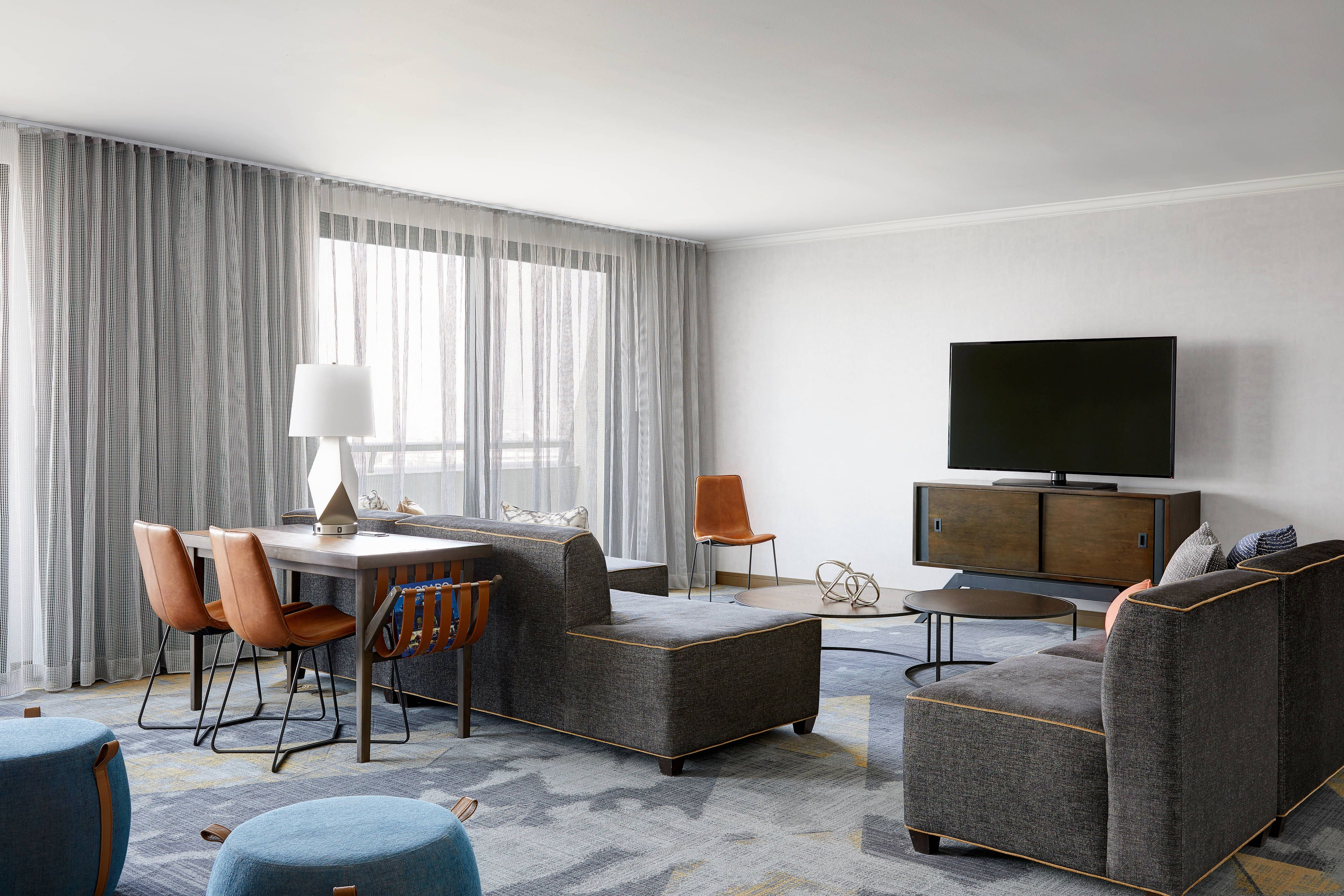 Renaissance Denver Stapleton Hotel Hospitality Suite Living Area