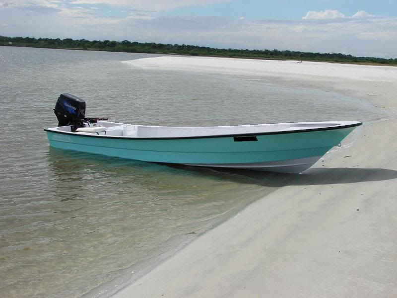 Its called a Panga skiff.....could be the perfect boat ...