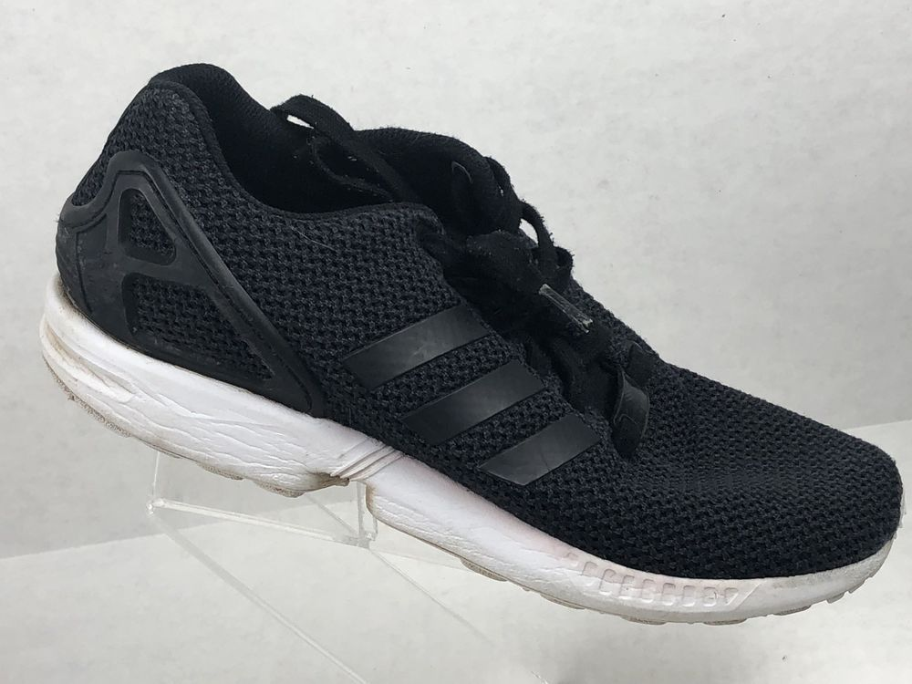 b0fcd96923551 Adidas ZX Flux Torison Men s Size 7.5 Black Athletic Running Shoes  adidas   RunningShoes