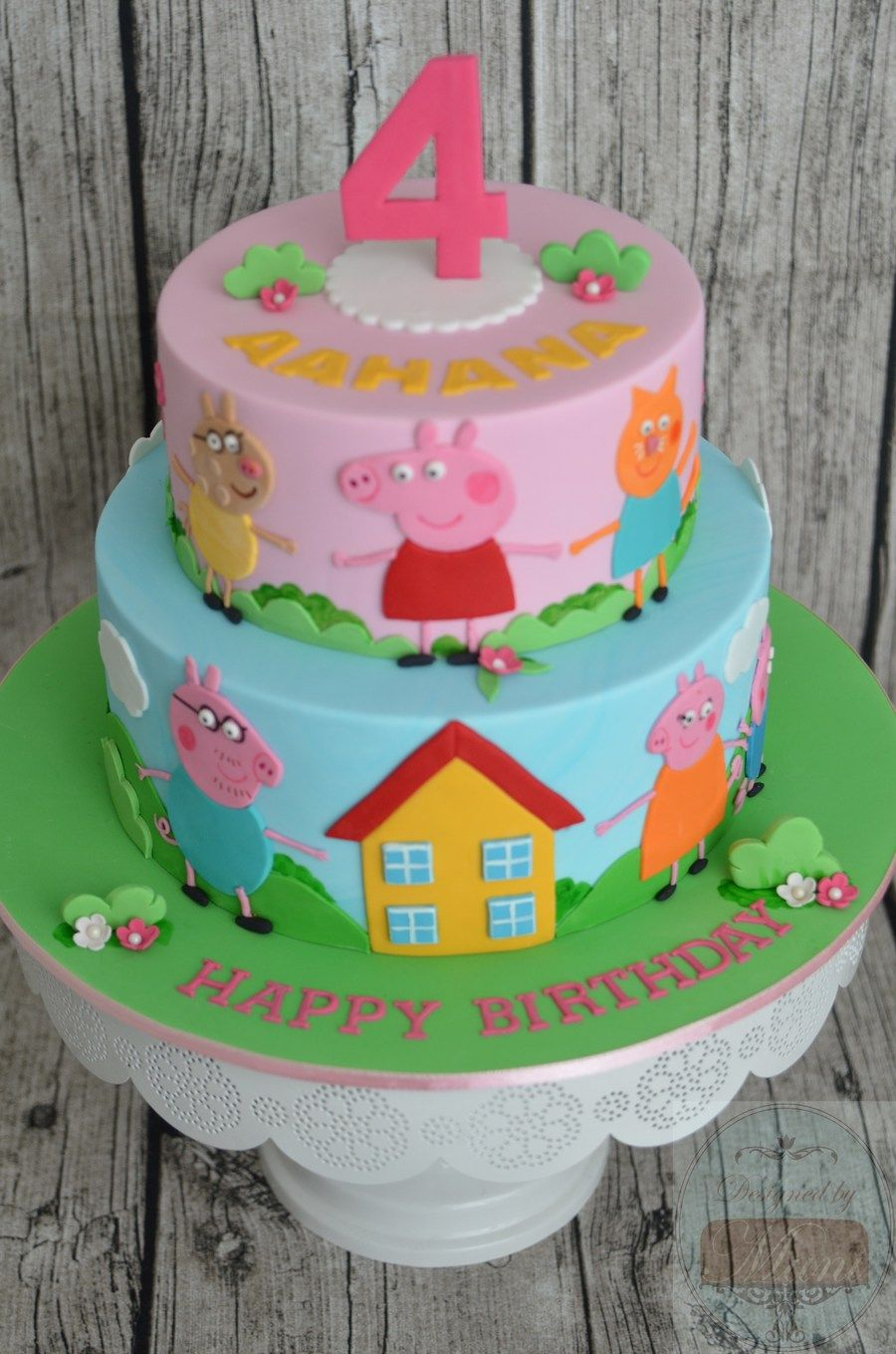 Cartoon Images To Cake